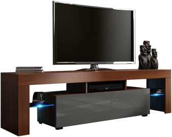 TV-laud Pro Meble Milano 160 Wallnut/Grey, 1600x350x450 mm