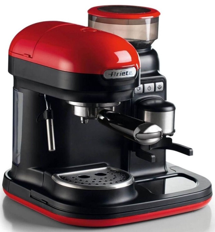 Ariete Moderna Espresso Coffee Machine Red 1318