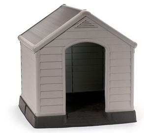 Curver Dog House Grey 95x99x99cm