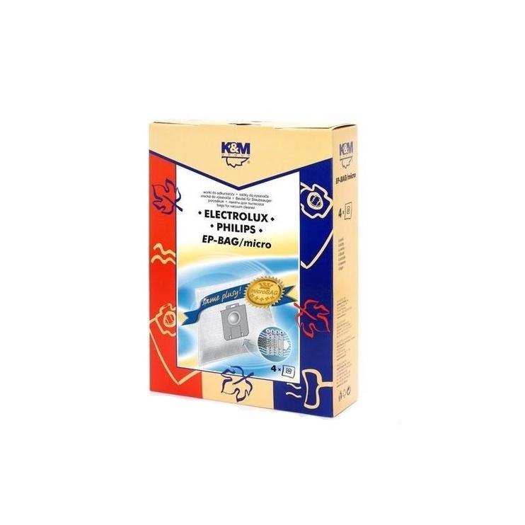 Мешок для пыли K&M EP-BAG Mikro, 4 шт.