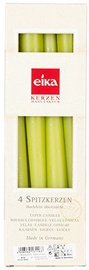 Eika Taper Candles 4pcs Green