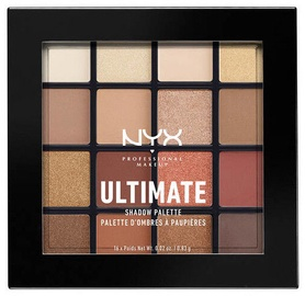 Acu ēnas NYX Ultimate Shadow Palette Warm Neutrals, 16x0.83 g