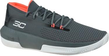 Under Armour Mens SC 3ZER0 III Basketball Shoes 3022048-102 Grey 46