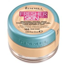 Rimmel London Fresher Skin Foundation SPF15 25ml 103