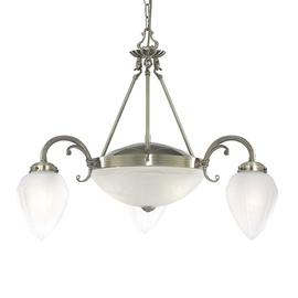 Griestu lampa Searchlight Regency 1995-5AB E27 2x60W, E14 3x40W