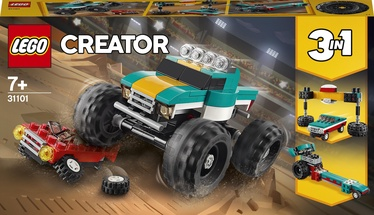 Конструктор LEGO Creator Монстр-трак 31101, 163 шт.