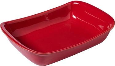 Pyrex Supreme Ceramic Roaster Red 33x23cm