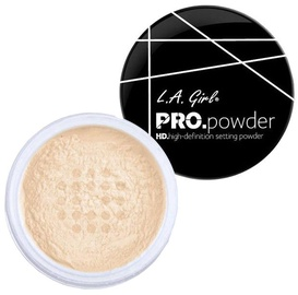Biri pudra L.A. Girl HD Pro Setting Powder Banana Yellow, 5 g