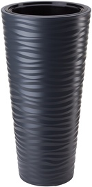 Plastist lillepott Sahara Slim, Ø40 cm