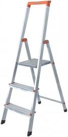 Krause Solidy 3 Step Ladder 126214