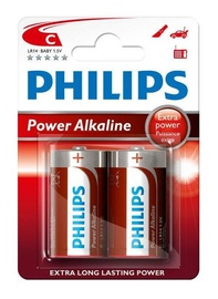 Philips LR14P2B/10 Alkaline Battery 2x