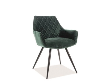 Signal Meble Linea Velvet Chair Green