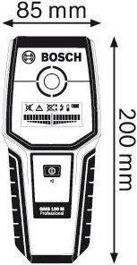 Bosch GMS 100 M Detector