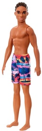 Mattel Barbie Beach Doll Ken In Beach Shorts GHW44