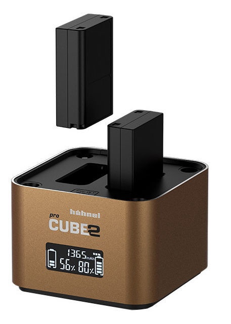 Hähnel ProCube 2 Charger For Olympus Brown