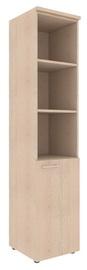 Skyland Xten Office Shelf XHC 42.5 Right Tiara Beech
