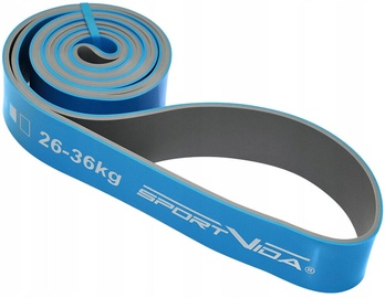 SportVida Rubber Expander Rubber Power Band 2080x44x4.5mm Blue
