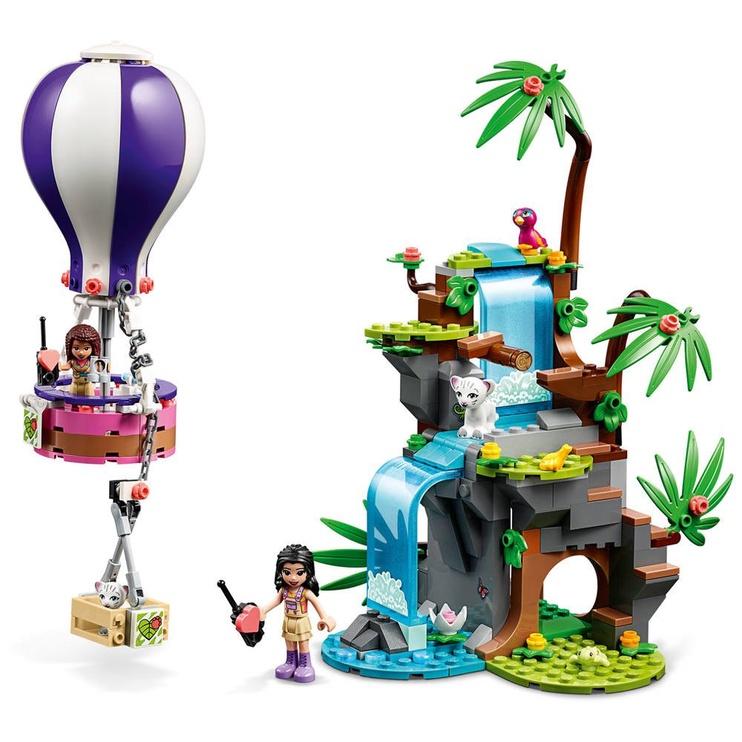 Konstruktorius LEGO® Friends 41423 Tigro gelbėjimas džiunglėse karšto oro balionu