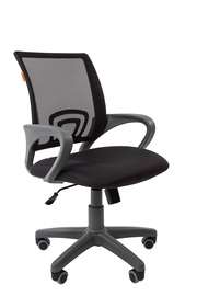 Chairman 696 Grey Office Chair TW-12 Black