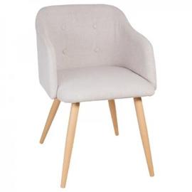 Valgomojo kėdė Luka, šviesiai pilka