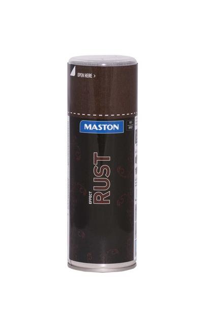 KRĀSA PŪŠAMĀ RUST EFFECT 400ML (MASTON)