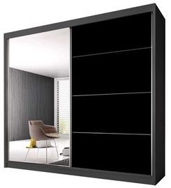Idzczak Meble Wardrobe Multi 31 203 Graphite/Black
