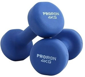 ProIron Neoprene Dumbbell Set Blue 2x4kg