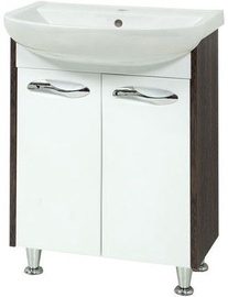 Sanservis Sirius-55 Cabinet with Basin Arteco-55 Vintage 55x84x44cm