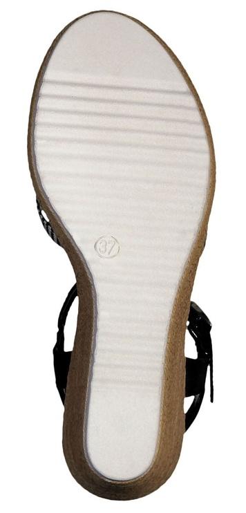 Tamaris Sandal 1-1-28380-22 Black White 39