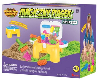 Kinetinis smėlis Russel Magic Sand Animal Set 0134735
