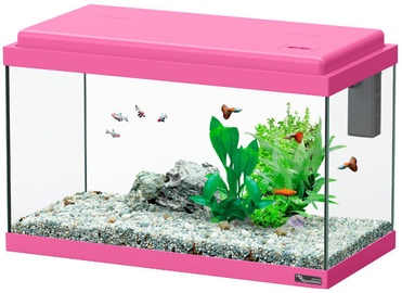 Akvariumas Aquatlantis Funny Fish 50, rožinis, 40 l, su įranga