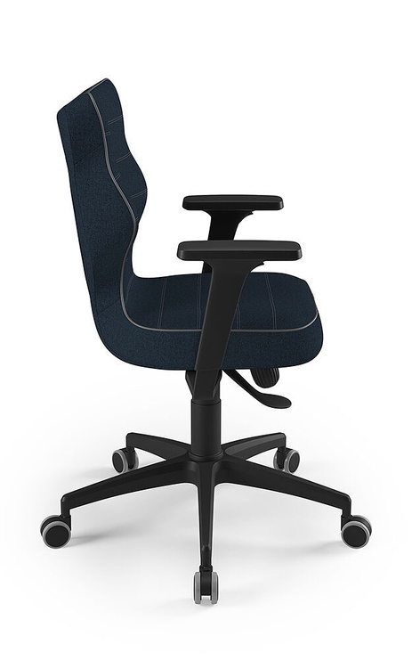 Entelo Perto Black Office Chair TW24 Navy Blue