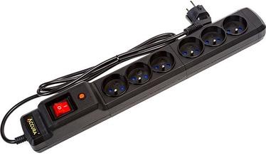 Accura Premium Crux 6 Outlet Black 2.5m