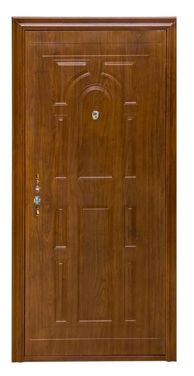 Plieninės vidaus durys JC-SW005, ąžuolo, dešininės, 96x205 cm
