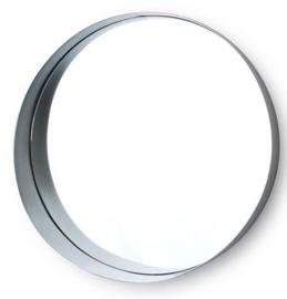 Mondex Alexia Mirror Silver 30cm