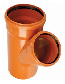 Magnaplast 3-Way Pipe D160/160x45 PVC Brown