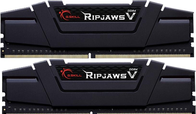 G.SKILL RipJawsV Black 16GB 3600MHz CL17 DDR4 KIT OF 2 F4-3600C17D-16GVK