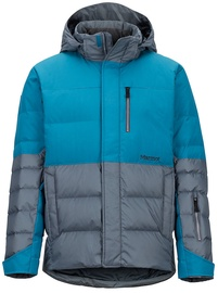 Marmot Mens Shadow Jacket Steel Onyx/Moroccan Blue L