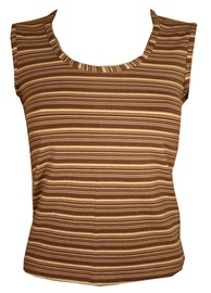 Bars Womens Shirt Brown 89 XXL