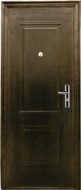 Plieninės vidaus durys JC39, rudos, dešininės, 205x96 cm