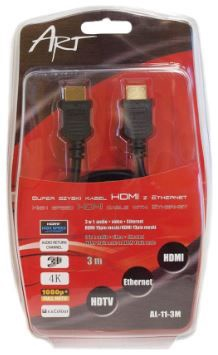 ART Cable Ethernet HDMI / HDMI 3m