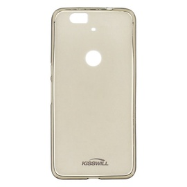 Kisswill Frosted Ultra Thin Back Case For Asus Zenfone Selfie Smoked Black
