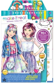 Make It Real Digital Dream Fashion Design Sketchbook