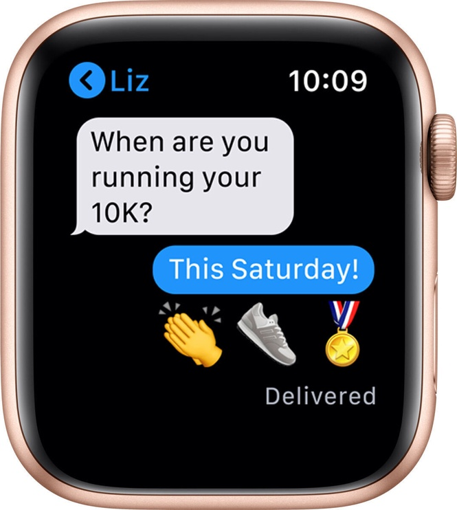 Nutikell Apple Watch SE GPS LTE 44mm Aluminum, kuldne