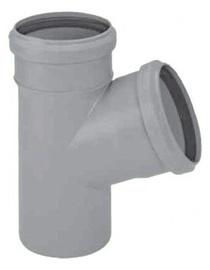 Kanalizācijas caurules trejgabals Magnaplast HTplus D110mm, 67°, PP