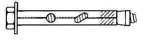 Kiilankur Vagner SDH 12 x 150 mm, tsingitud, 2 tk