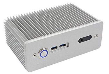 Impactics Intel NUC Case D3NU1-IR-25-S Silver