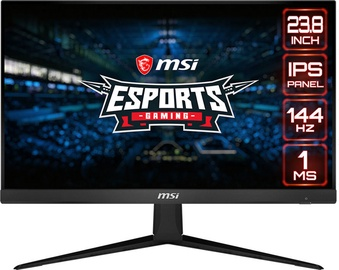 "Monitorius MSI Optix G241, 23.8"", 1 ms"