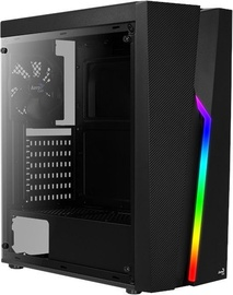 Aerocool Bolt RGB Black ATX Mid-Tower Black
