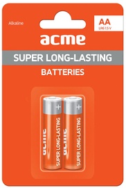 Acme LR6 Alkaline Batteries AA 2pcs